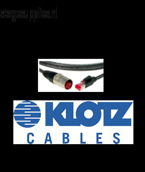 CAT 5 kabel, gemonteerd