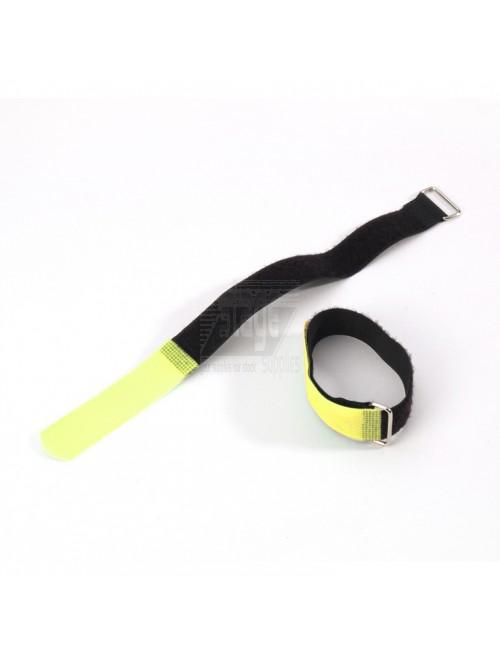 Cable tie 16 cm. x 16 mm, geel