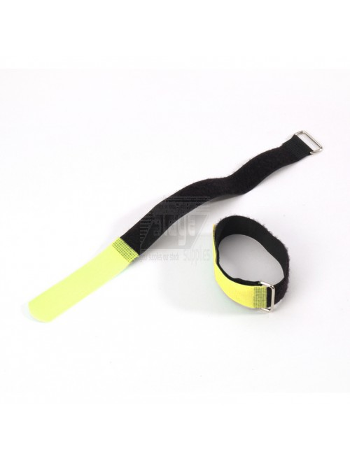 Cable tie 20 cm. x 20 mm, geel
