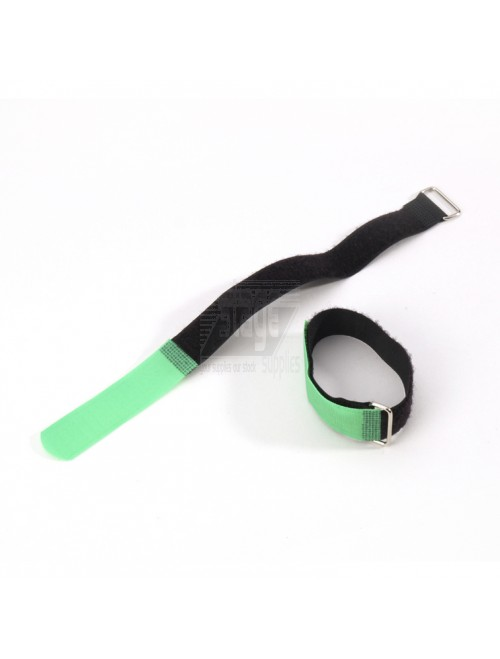 Cable tie 30 cm. x 20 mm, groen