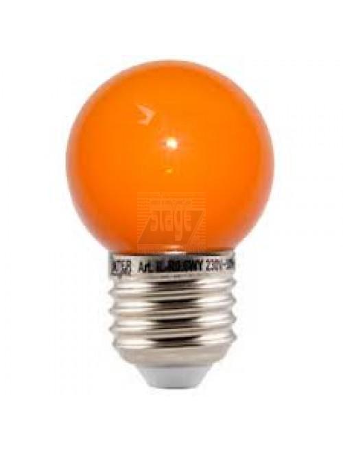 LED kogellamp, oranje