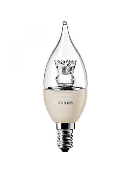 Philips Master LEDcandle vlamvormig