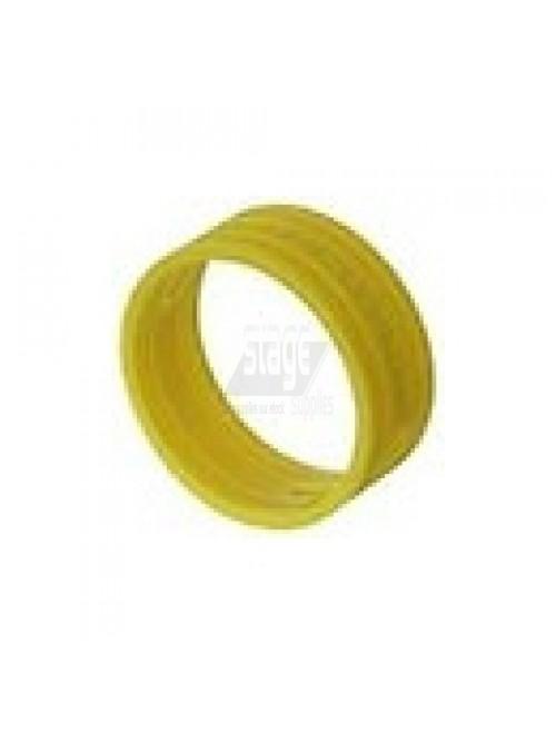 XLR kleurring, geel
