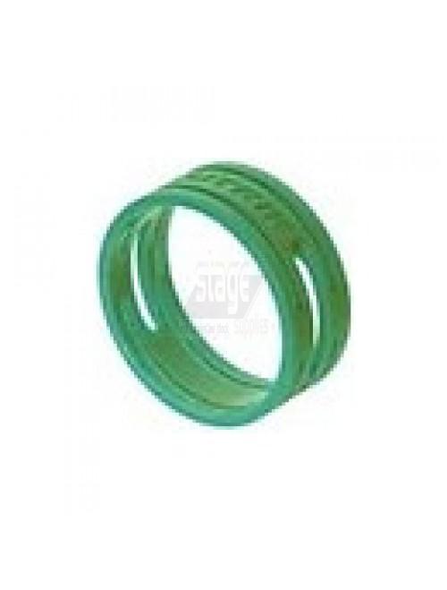XLR kleurring, groen